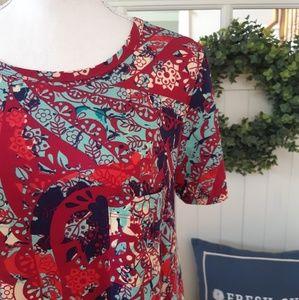 NWOT! LuLaRoe Multicolored Carly Dress